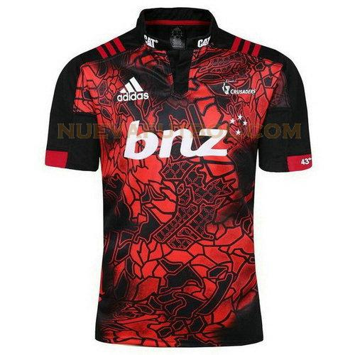 camiseta rugby crusaders 2017-2018 rojo hombre