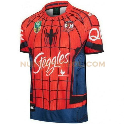 camiseta rugby sydney roosters 2017-2018 rojo hombre