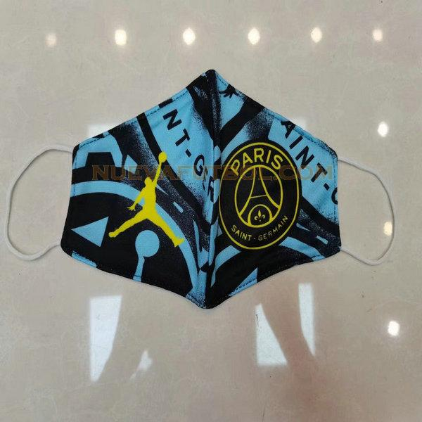 maschera paris saint germain 2020-2021 azul negro