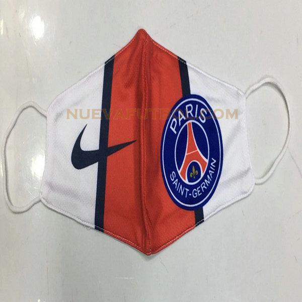 maschera paris saint germain 2020-2021 rojo