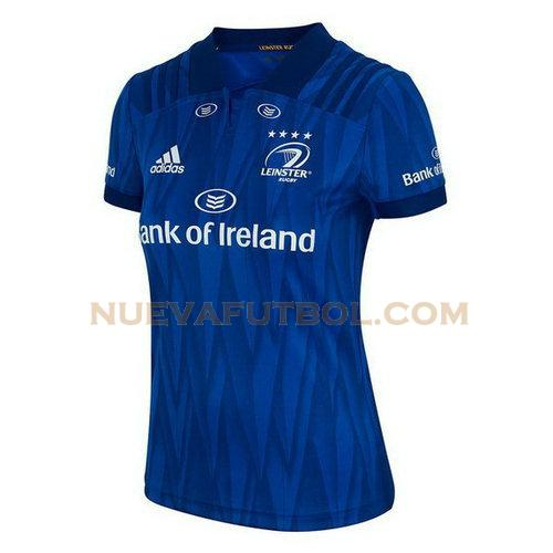 primera camiseta rugby leinster 2018 azul mujer