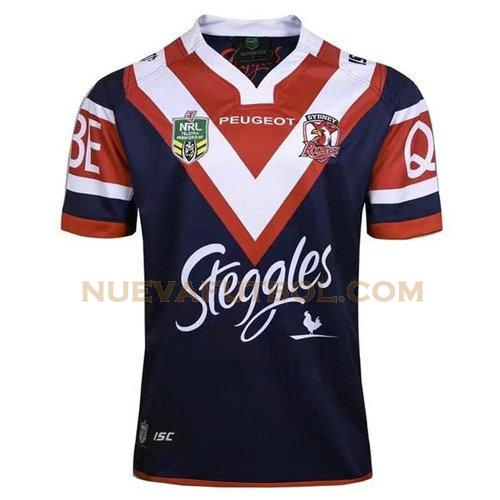 primera camiseta rugby sydney roosters 2017 azul hombre