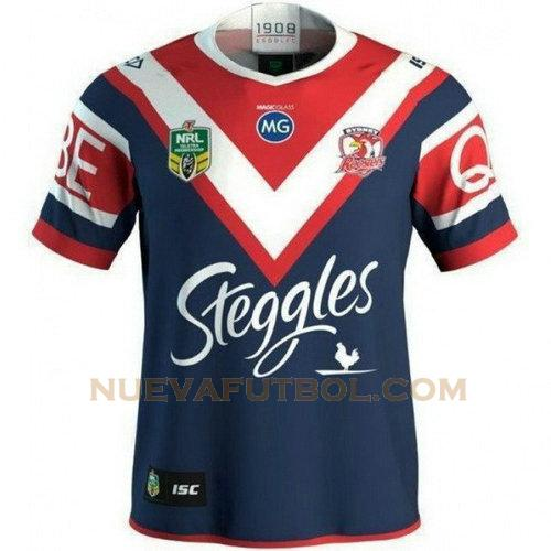 primera camiseta rugby sydney roosters 2018 azul hombre