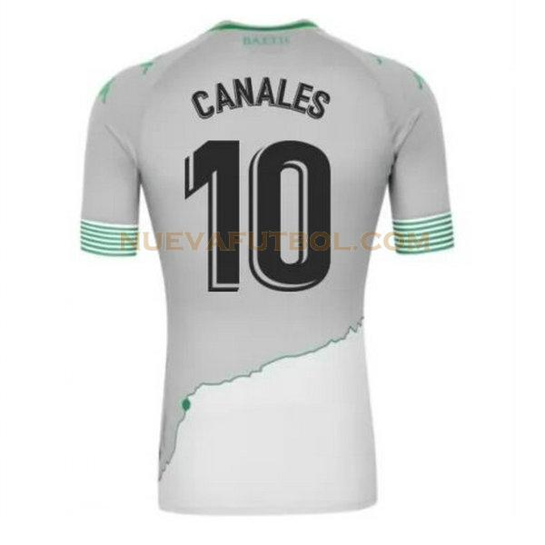 tercera camiseta canales 10 real betis 2020-2021 hombre